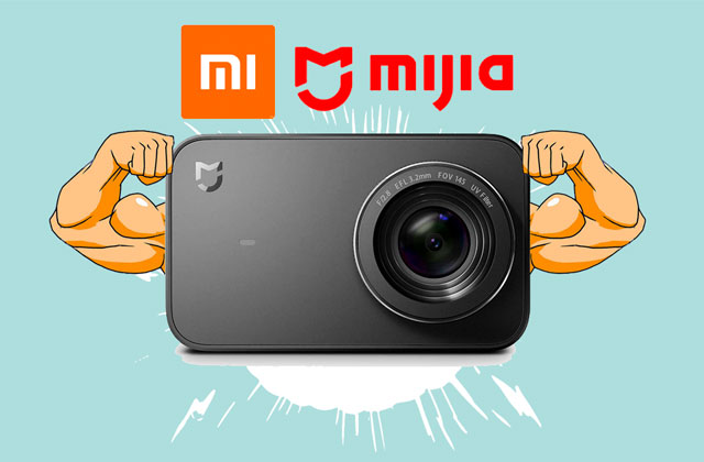 Xiaomi Mijia 4k Action Camera Review. Customizing and tests from PIXAERO