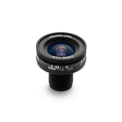3.4 mm DUO  Manual Focus Lens for YI 4K/4K+